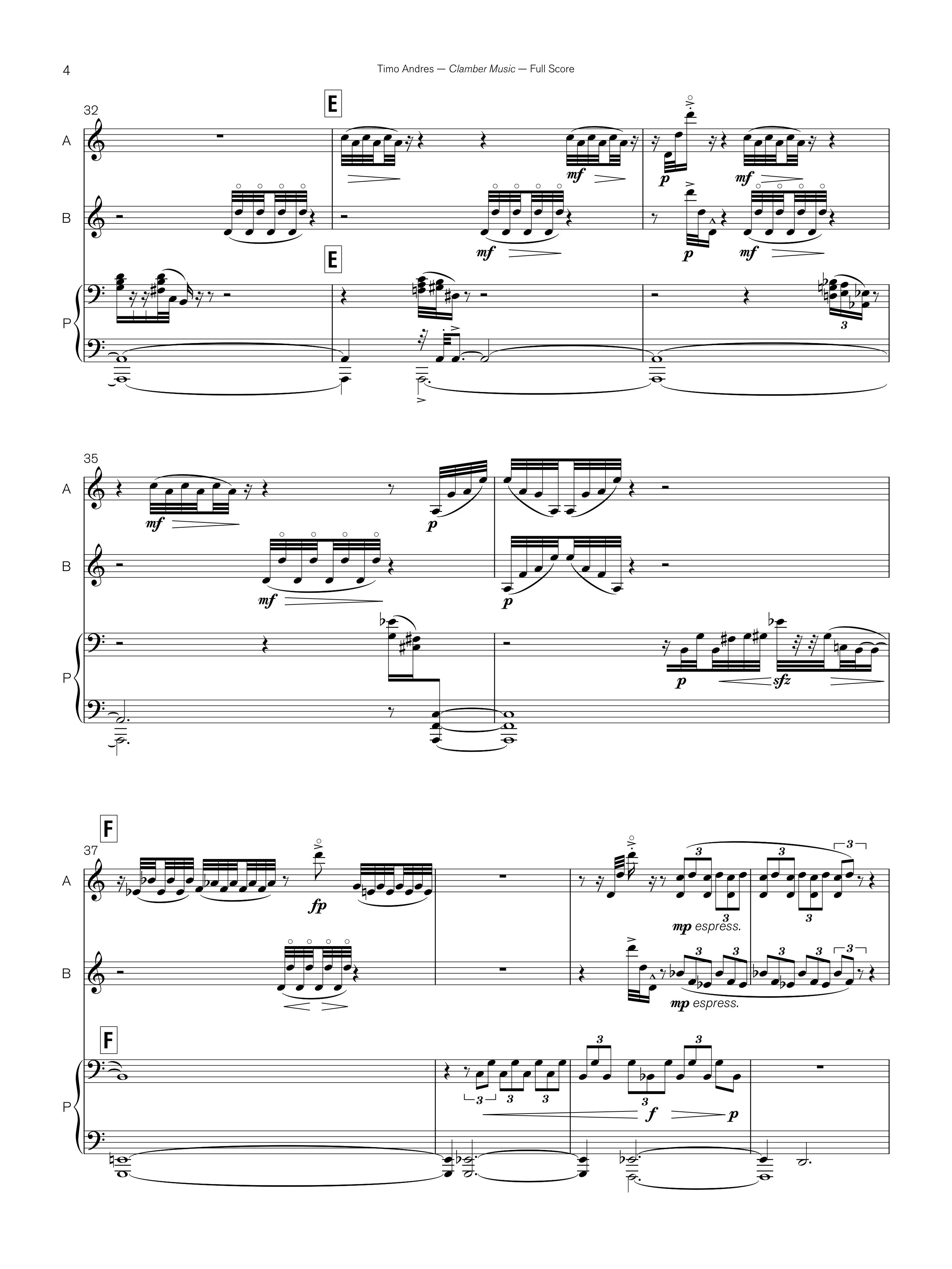Clamber Music, p. 4