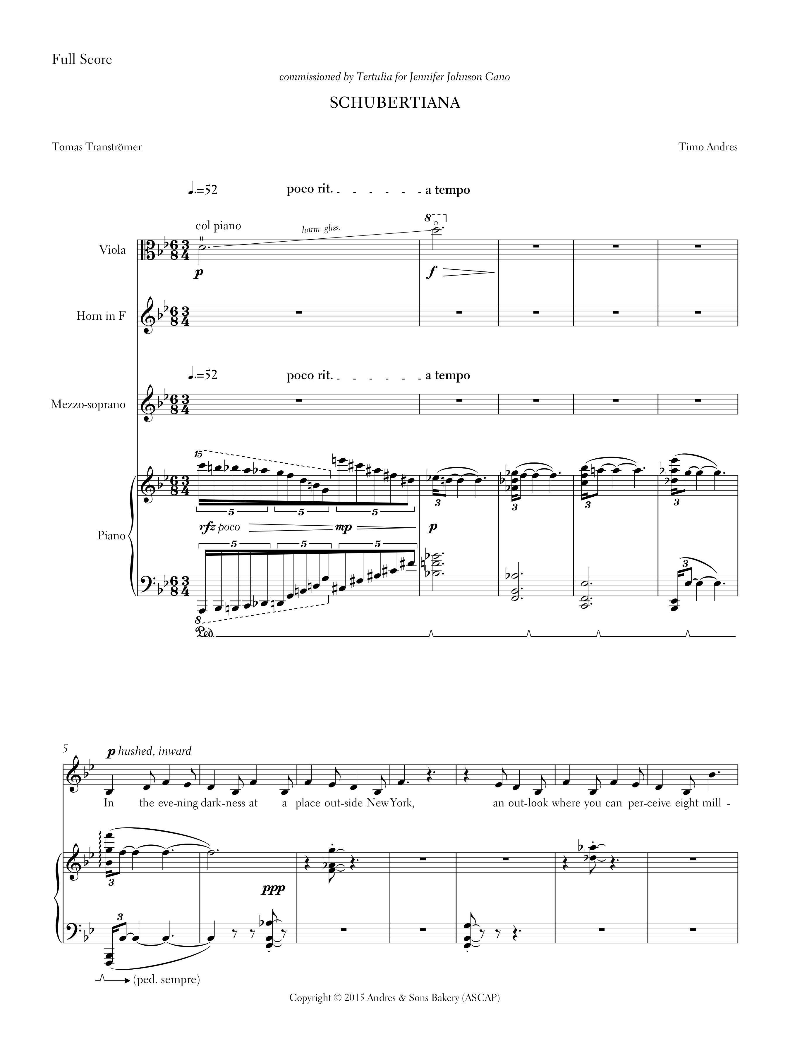 Schubertiana, p. 1