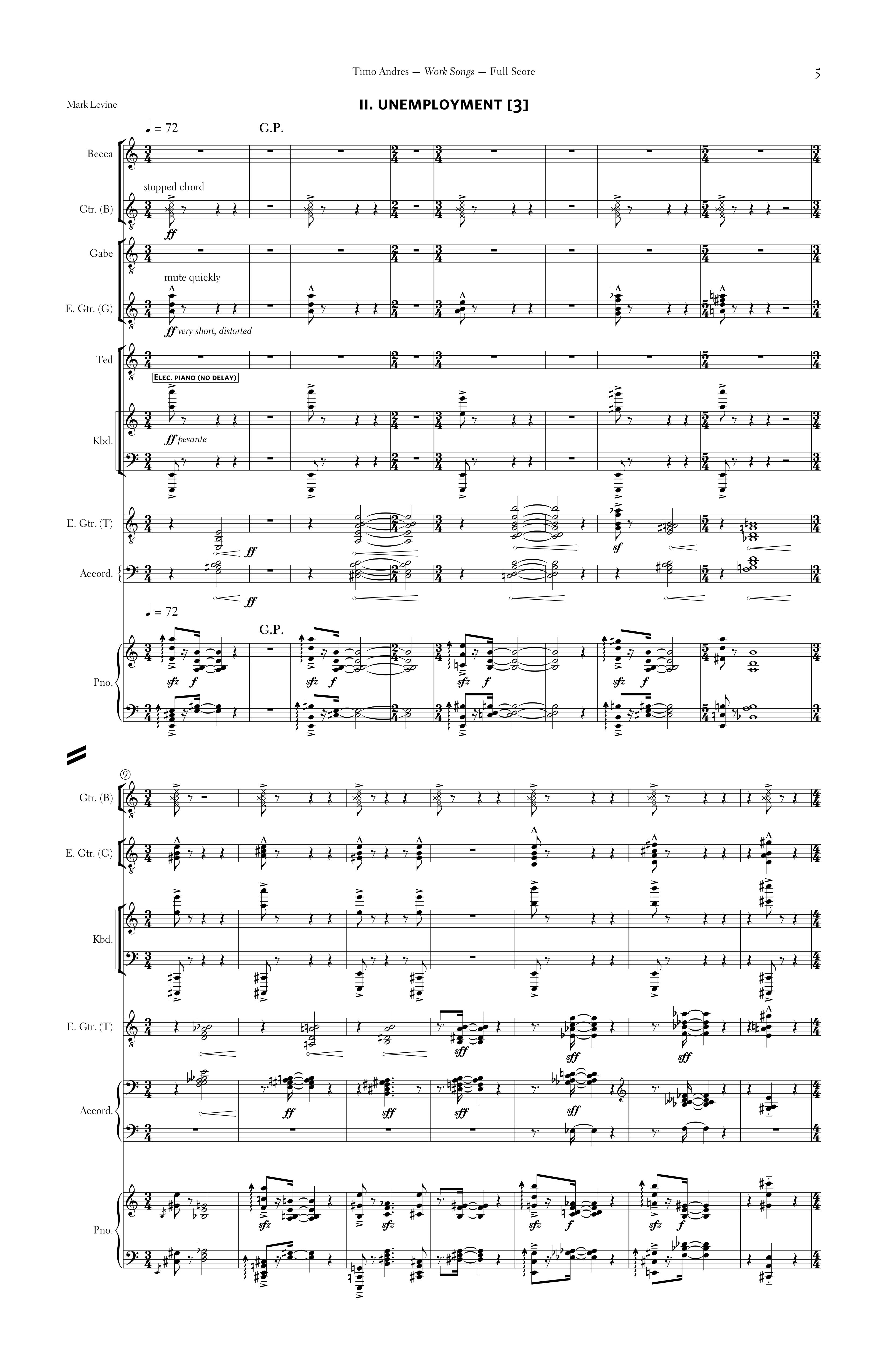 Work Songs, p. 2