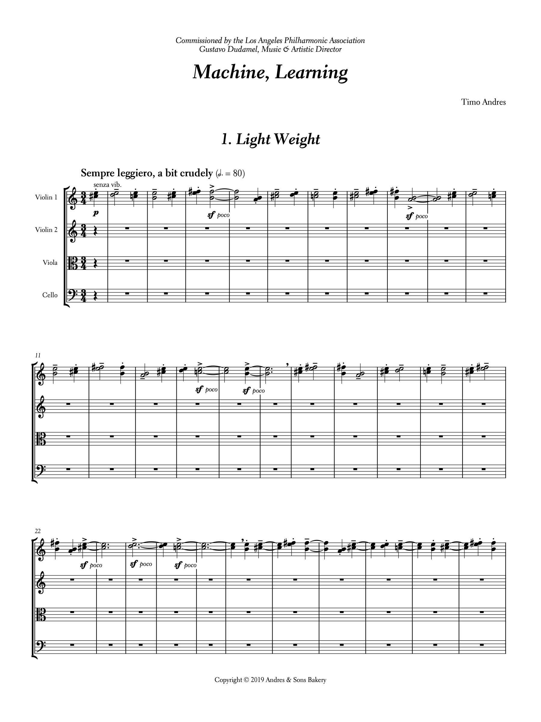Piano Trio, p. 1